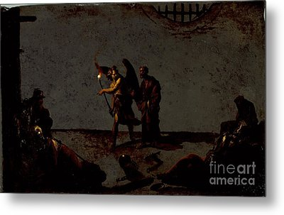 The Liberation Of Saint Peter Metal Print by Celestial Images