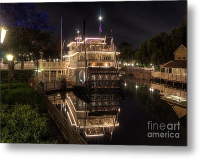 The Liberty Belle Metal Print