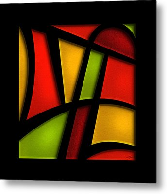 The Life - Abstract Metal Print
