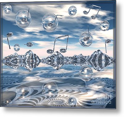 The Light Bender Cantata Metal Print
