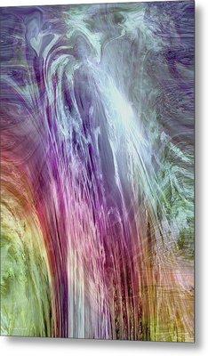 The Light Of The Spirit Metal Print by Linda Sannuti