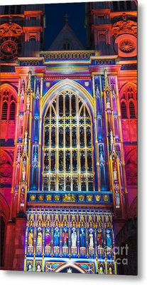 The Light Of The Spirit Westminster Abbey London Metal Print