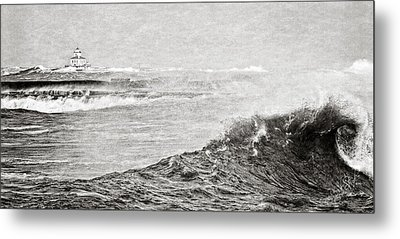 The Lighthouse Metal Print by Everet Regal