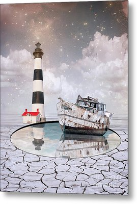 Metal Print featuring the photograph The Lighthouse by Juli Scalzi