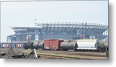 The Linc From The Other Side Of The Tracks Metal Print by Bill Cannon