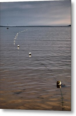 Metal Print featuring the photograph The Line by Jouko Lehto