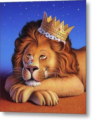 The Lion King Metal Print by Jerry LoFaro