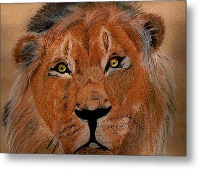 The Lion Within Metal Print by ShadowWalker RavenEyes Dibler