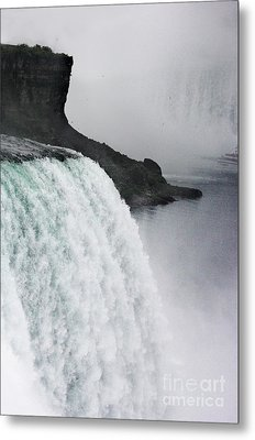 Metal Print featuring the photograph The Liquid Curtain by Dana DiPasquale