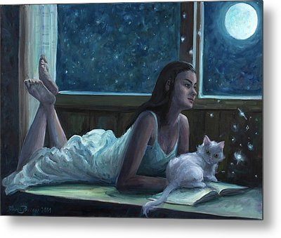 The Little Witch Metal Print by Marco Busoni