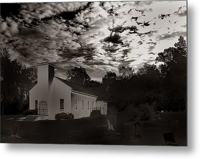 The Living And The Dead Metal Print by Joseph G Holland
