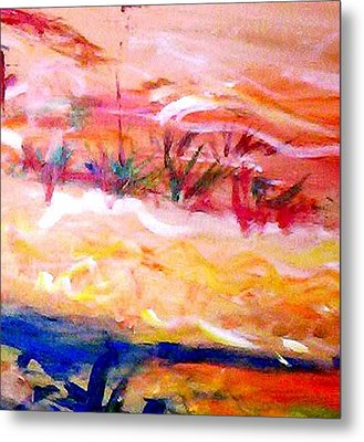 The Living Dunes Metal Print