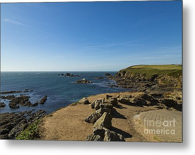 Metal Print featuring the photograph The Lizard Point by Brian Roscorla