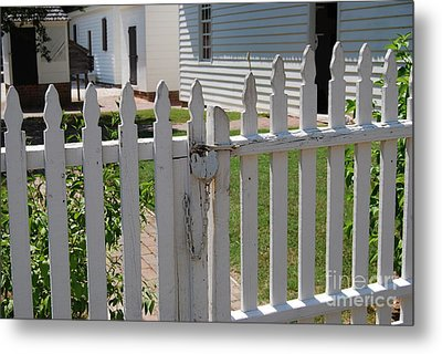 The Lock Metal Print by Eric Liller