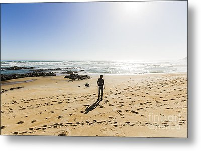 The Lone Explorer  Metal Print by Jorgo Photography - Wall Art Gallery