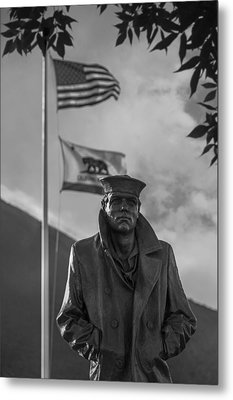 The Lone Sailor Metal Print by Anthony Citro