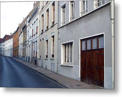 The Lonely Street Metal Print by Jez C Self