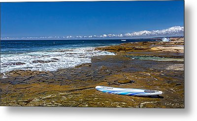 The Long Board Metal Print by Peter Tellone