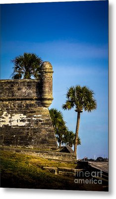 The Lookout Metal Print by Marvin Spates