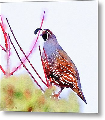 The Lookout Metal Print by Michele Ross