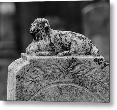 The Lord Is My Shepherd Metal Print