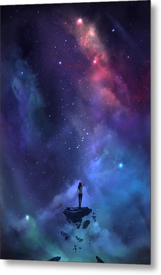 Metal Print featuring the digital art The Loss by Steve Goad
