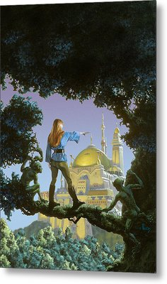 The Lost Palace Metal Print by Richard Hescox