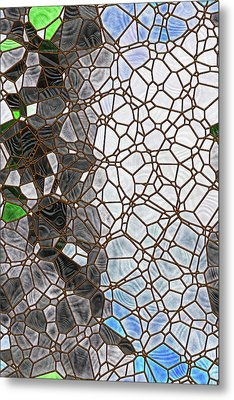Metal Print featuring the digital art The Lovely Spider by Wendy J St Christopher