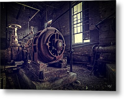 The Machine Metal Print by Everet Regal