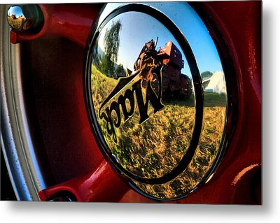 The Mack Truck Metal Print by Linda Unger