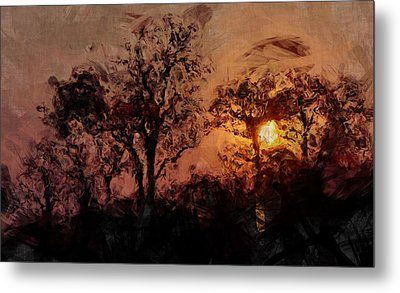 The Madness Of Twilight Metal Print by Mark Denham