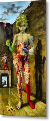 The Magic Flower Game Revisited Metal Print