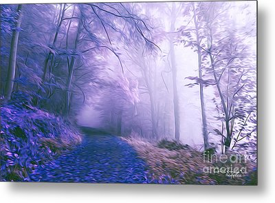 The Magic Forest Metal Print