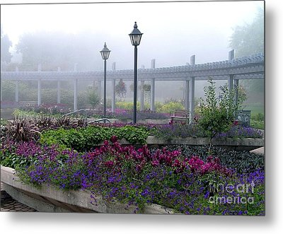 The Magic Garden Metal Print