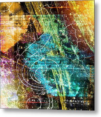 The Magic Key. Metal Print