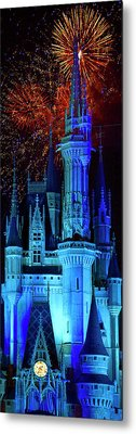 The Magic Of Disney Metal Print by Mark Andrew Thomas