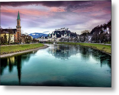 The Magic Of Salzburg  Metal Print