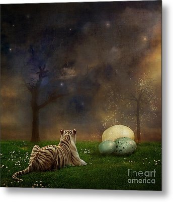 The Magical Of Life Metal Print by Martine Roch