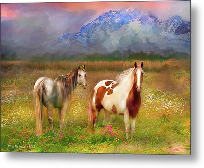 The Majestic Pasture Metal Print
