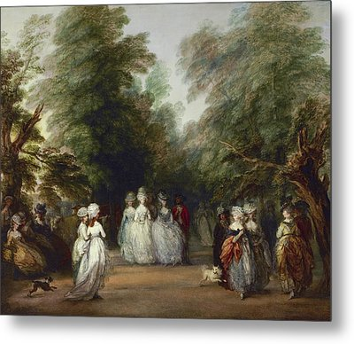 The Mall In Saint James's Park Metal Print by Thomas Gainsborough