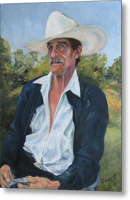 The Man From The Valley Metal Print