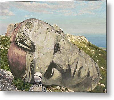 The Man Who Fell To Earth Metal Print