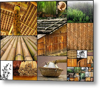 The Many Faces Of Bamboo Metal Print by Yali Shi