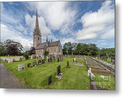 The Marble Church Metal Print by Adrian Evans