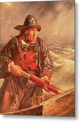 The Mariner Metal Print by Erskine Nicol