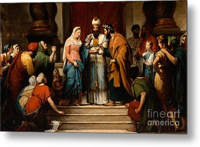 The Marriage Of The Virgin Metal Print