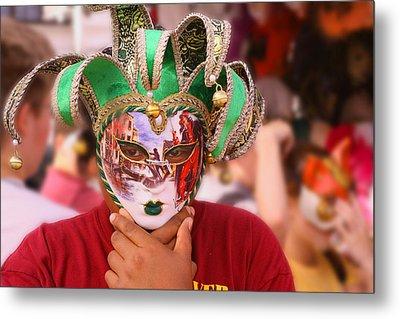 The Mask Metal Print by Greg Sharpe