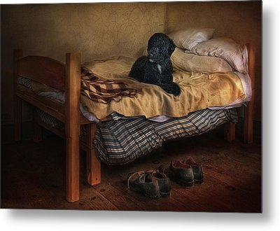 The Master's Shoes Metal Print by Robin-Lee Vieira