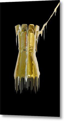 The Melting Pot Metal Print by Evelyn Patrick