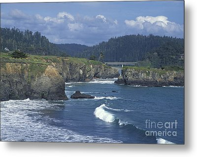 Metal Print featuring the photograph The Mendocino Coast 2 by Stan and Anne Foster